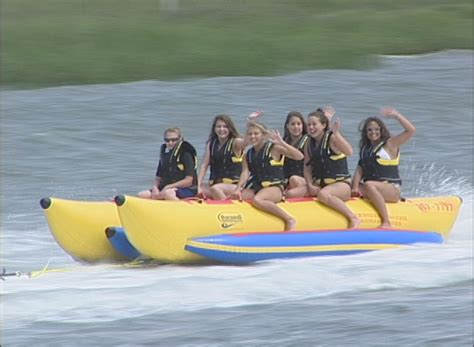 Bikini Boat Pictures by Banana Boat Rides In Myrtle Beach Express Watersports