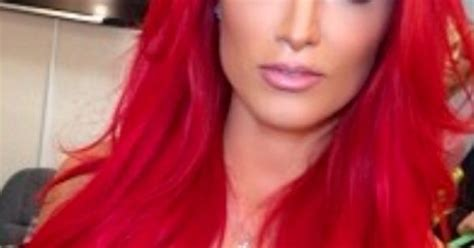 Eva Marie, Nice Color But Looks Better In Her Natural Dark