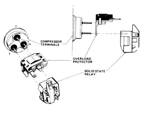 Refrigeration Current Relay