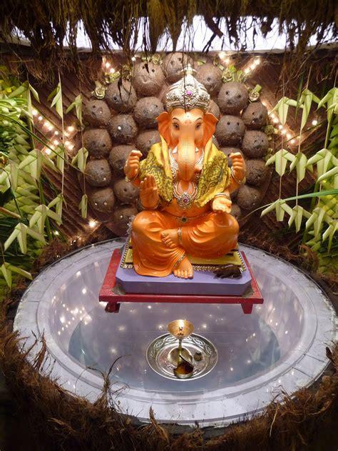 Ganapati Decoration Ideas - eco friendly ganesh eco friendly decorations ideas