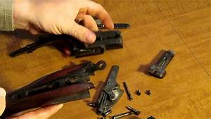 Taking Apart An Old Double Barreled Shotgun