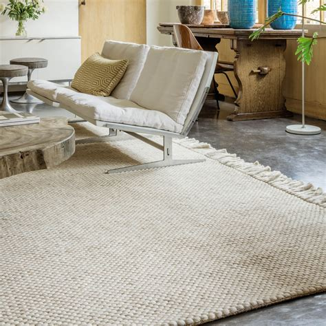 tapis beige laine idees de decoration interieure