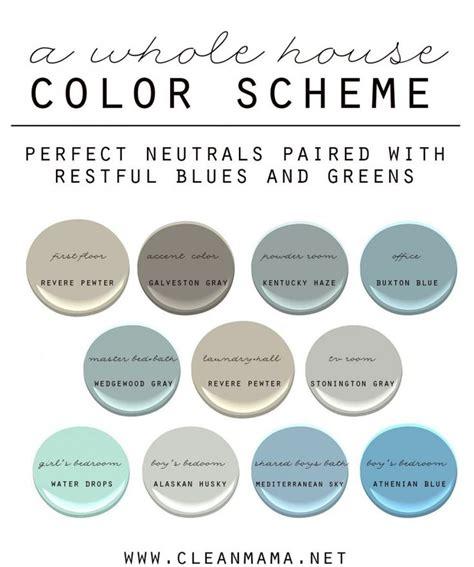 17 best images about paint whole house color palette pinterest woodlawn blue paint colors
