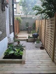 inspirations pinterest deco jardin et terrasse voici With amenagement petit jardin exterieur