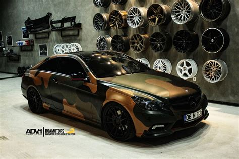 Adv1 Wheels Mercedes E-class Coupe Wrapping Tuning Cars