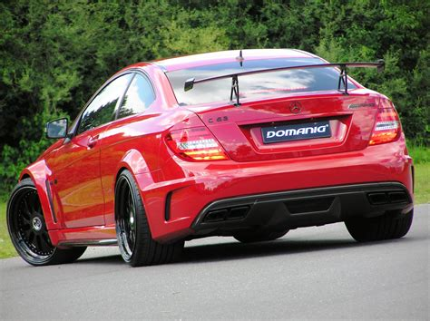 Mercedes-benz C63 Amg Coupe Black Series By Domanig