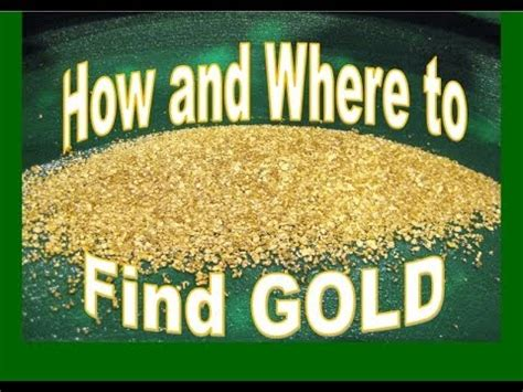 How And Where To Find Gold  Prospecting In The River By