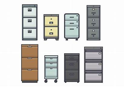 Cabinet Office Vectors Vector Clipart Furniture System