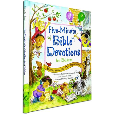 children s bible devotions 279 | five minute bible devotions for children stories from the old testament hardcover