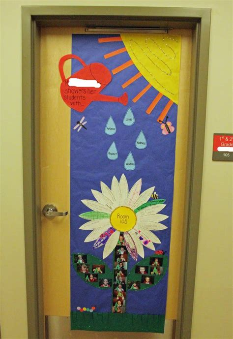 spring door decorating idea door decorating pinterest