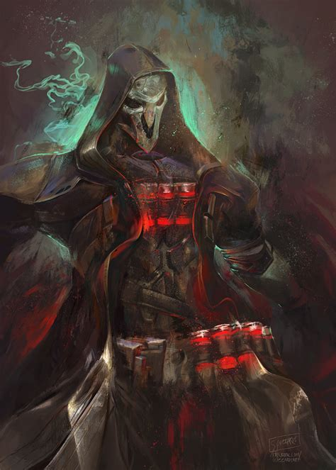 Reaper By Guzzardi On Deviantart