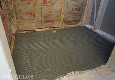 shower pan tile ready tile ready shower pan installation sawdust 174