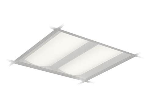 2x2 led light fixture philips dualed dimmable 35w 3500k 2x2 ft recessed led