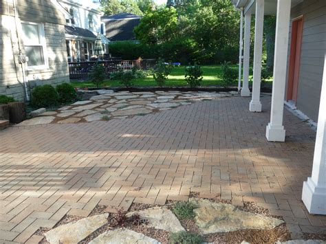 brick and flagstone patio 1000 images about cottage patios paths on pinterest gardens fire pits and pathways