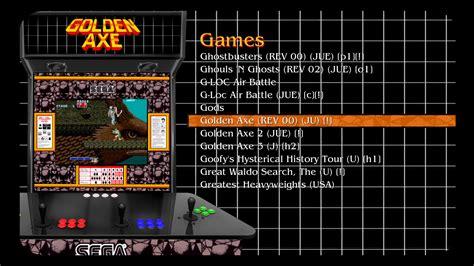 Maximus Arcade Themes Emulator Arcade Theme Golden Axe