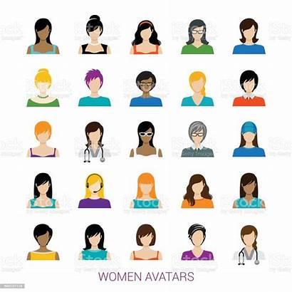 Vector Avatar Female Royalty Clip Illustration Person