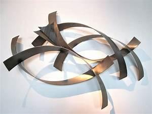 Sculpture Metal Murale : metro modern curtis jere abstract metal wall sculpture ~ Teatrodelosmanantiales.com Idées de Décoration