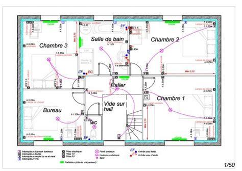 plan electrique chambre plan electrique maison realiser schema electrique maison
