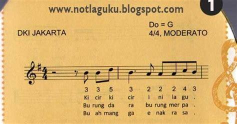 not angka lagu kicir kicir not angka lagu kicir kicir not angka lagu indonesia