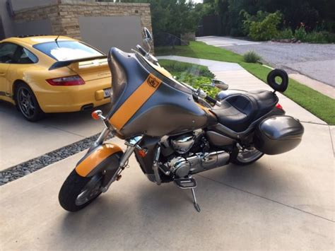 2006 Suzuki M109r Custom Touring Bagger Near Mint And 1 Of