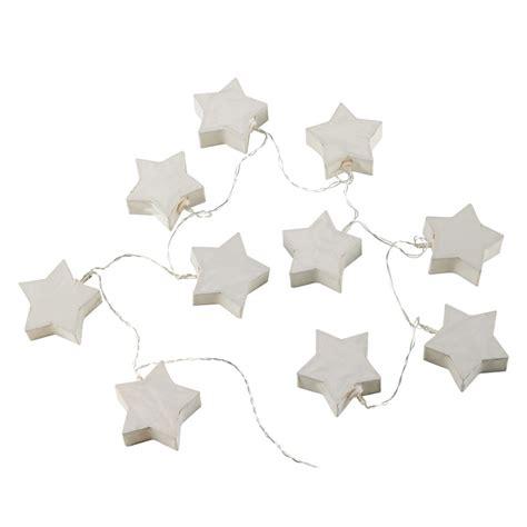 guirnalda luminosa infantil blanca de papel starlight maisons du monde