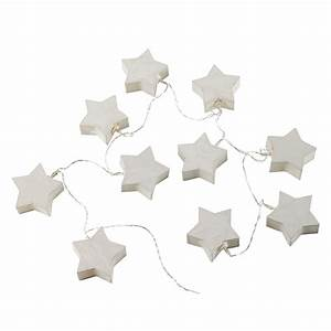 Guirlande Lumineuse Papier : guirlande lumineuse enfant en papier blanche starlight maisons du monde ~ Teatrodelosmanantiales.com Idées de Décoration