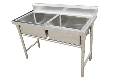 stainless steel sink with legs commercial kitchen stainless steel sink leg standing