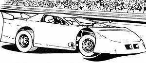 Coloring Pages Race Cars 13 25567