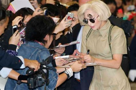 lady gaga fan mail email address world in pictures november 26 2013 lady gaga in japan