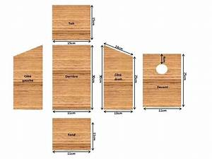 Plan Nichoir Oiseaux : sensationnel plan cabane a oiseaux construire mangeoire oiseaux sur pied ~ Melissatoandfro.com Idées de Décoration