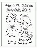 Bride Groom Coloring Popular Printable sketch template