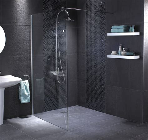walk  shower enclosure corner wet room square frameless