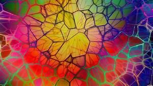 Wallpaper, Colorful, Digital, Art, Window, Abstract, 3d
