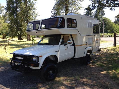 toyota motorhome 1982 toyota sunrader motorhome for sale in portland or