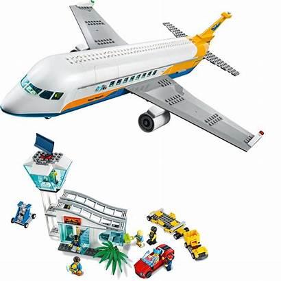 Lego Airplane Passenger Airport Avion Aereo Passeggeri