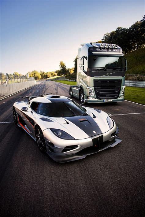 koenigsegg illinois volvo trucks vs koenigsegg one 1 il video