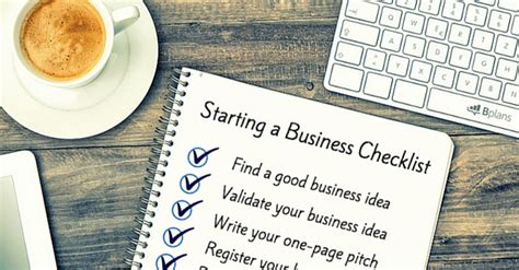 Business Plan Why Should You Create A Business Plan For Your Home Business 2 How To Start A Business The Ultimate Checklist Bplans