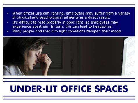 are your office lights bad how lighting affects your productivity in the workplace