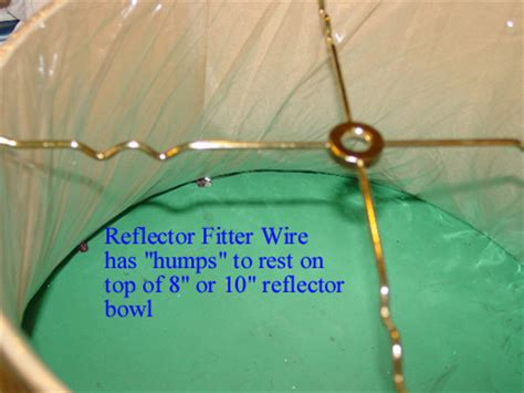 spider reflector fitter l shade glass torchiere shades holders