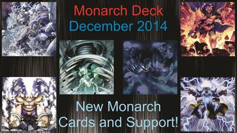 yugioh ghostrick deck october 2014 yu gi oh monarch deck profile december 2014 gameplay