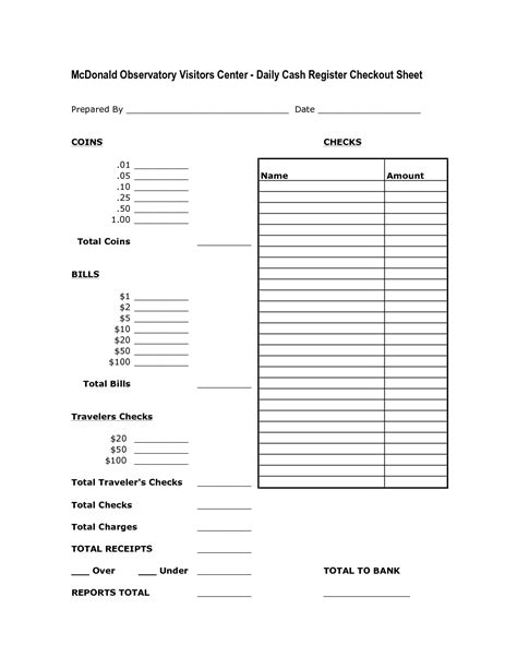 end of day register report template end of day register report template clergy coalition