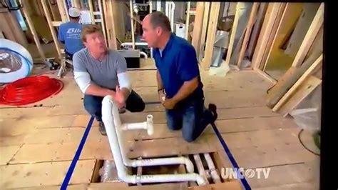 installing a kitchen island proper drain vent for island sink