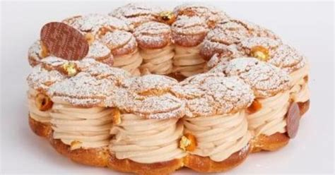 the thanksgiving dessert 2012 brest p 226 te 224 choux puff ring filled with hazelnut