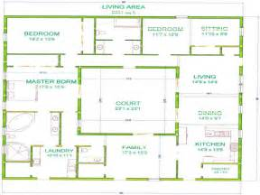 Images Home Plans Center Courtyard Pool by Courtyard With Pool House House With Center Courtyard