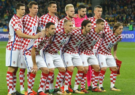Fifa World Cup Russia Squad Croatia Football Team