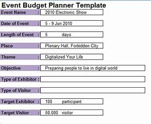 template for planning an event - 7 event planning budget templates excel templates