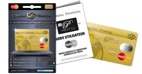 carte bleu bureau de tabac corpedia financial lance la carte de paiement prépayée
