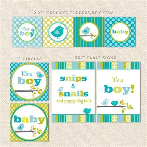 elephant boy printable baby shower decorations lil