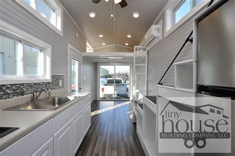 Bayview Tiny House: Tiny Home on Wheels with Sliding Glass