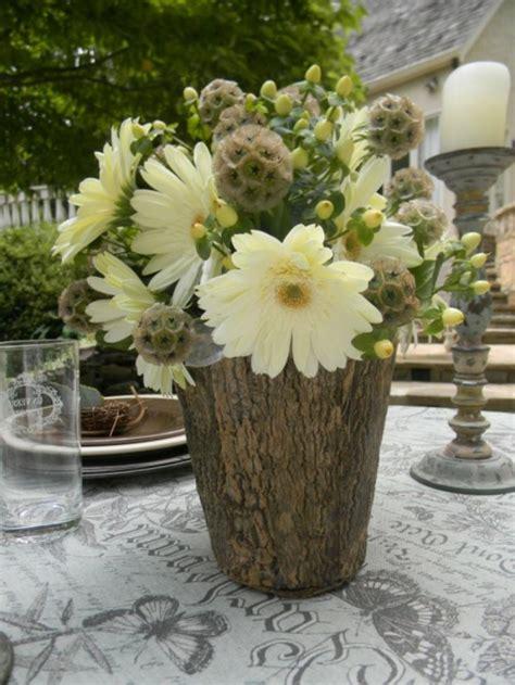 Coole Deko Ideen Zum Selber Machen by Coole Deko Ideen 21 Selbst Gemachte Baumstumpf Vasen